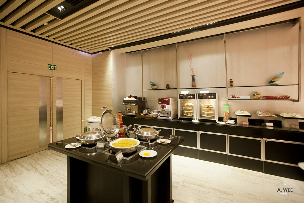 Buffet Counter in the Lounge