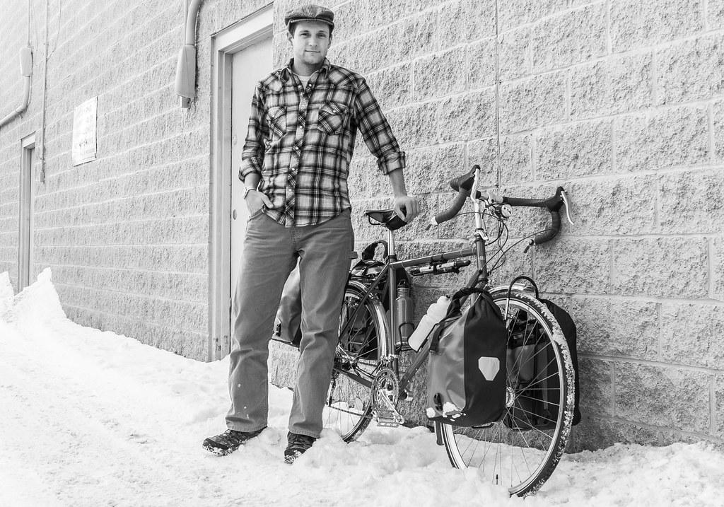 Eric + Bike