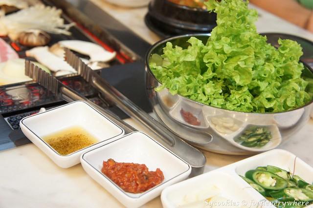 12.San Nae Deul Korean BBQ- grilled sliced pork with mushroom RM 30 (2)