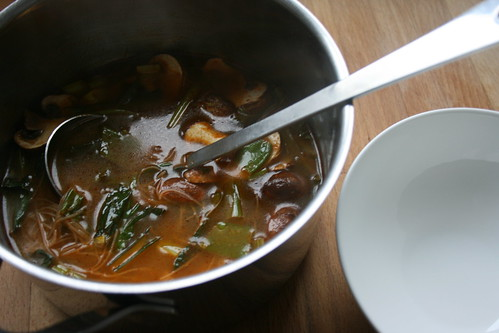quick tom yum soup by the james kitchen