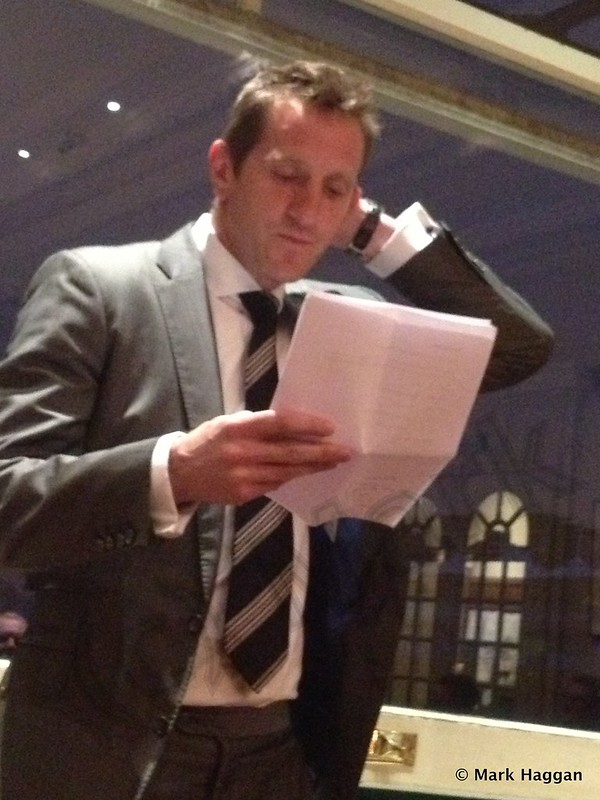 Will Greenwood at Lord's