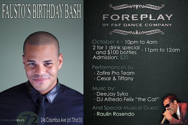 F&F Birthday Bash for Fausto Felix