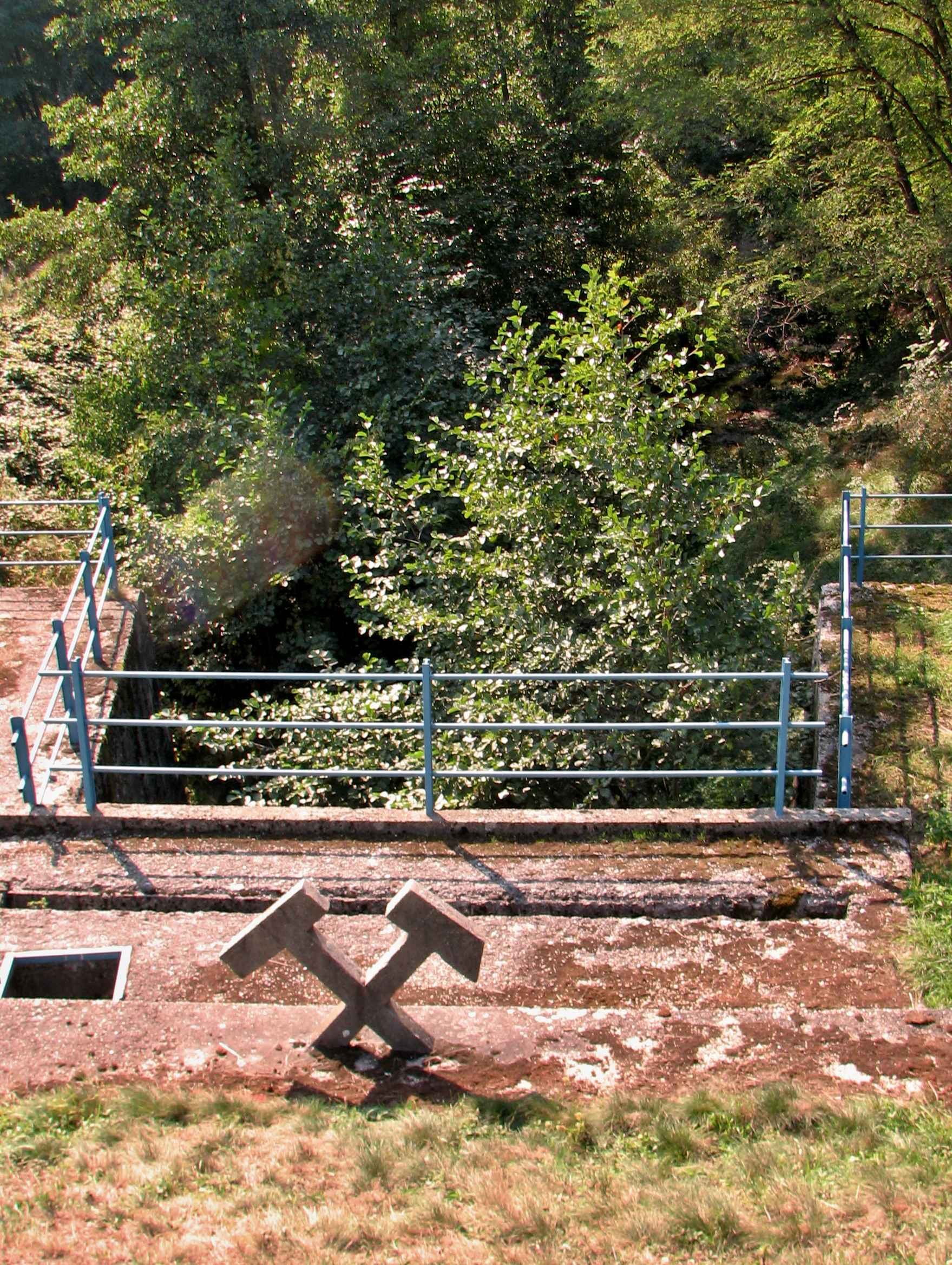 Ústie vodného tunela