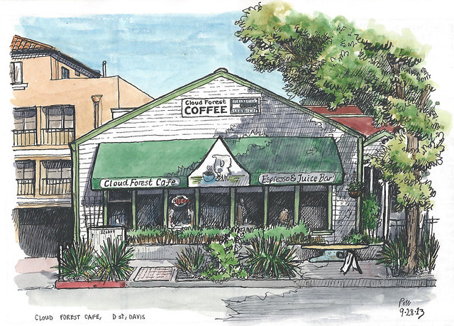 cloud forest cafe