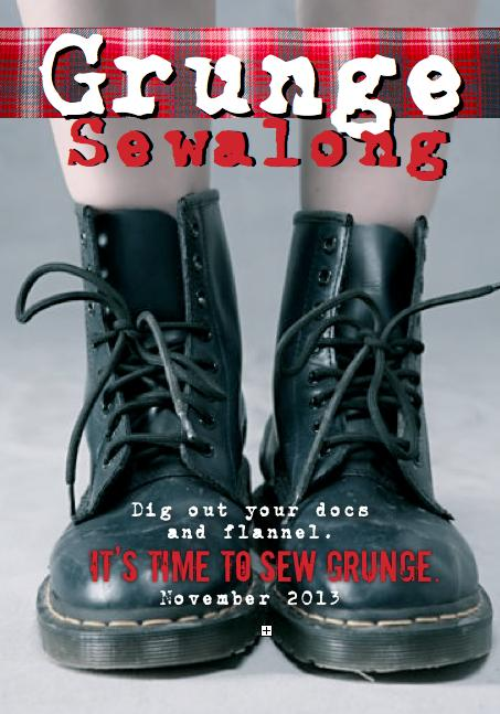 Join us for a Grunge Sewalong in November!