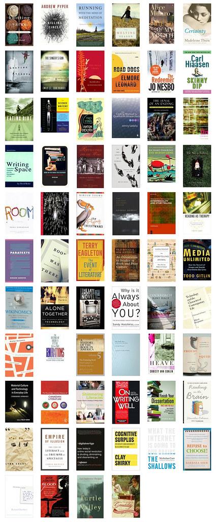 My 2013 Bookshelf