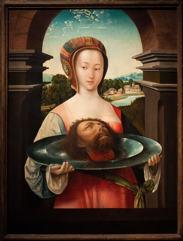 Salome with the Head of John the Baptist, Jacob Cornelisz van Oostsanen, late 1400s to early 1500s, Rijksmuseum, Amsterdam.