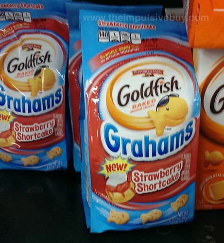 Pepperidge Farm Goldfish Grahams Strawberry Shortcake