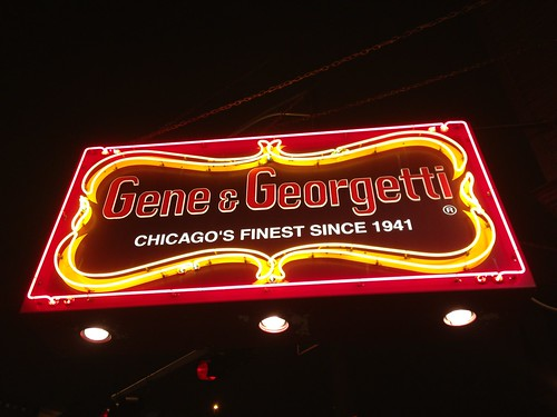Gene & Georgetti steak house
