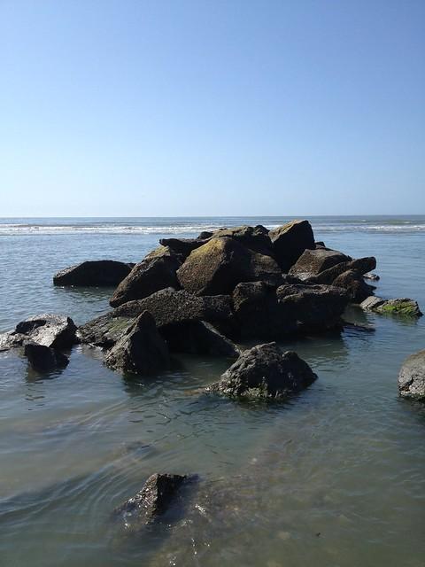 Beach Rocks, Sullivan's Island, South Carolina