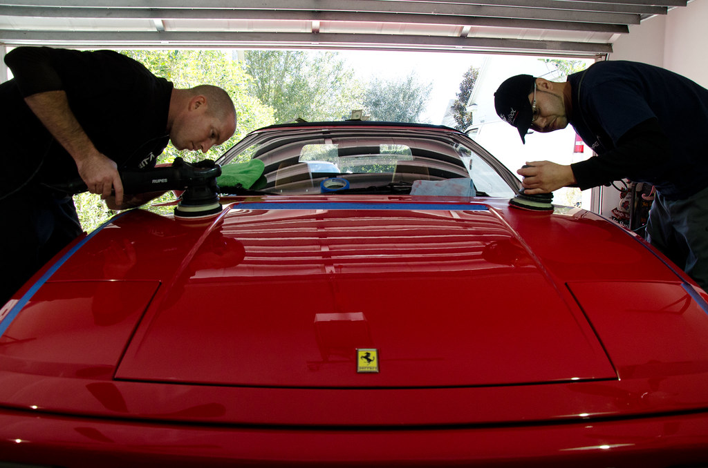 Ferrari 348 Detail