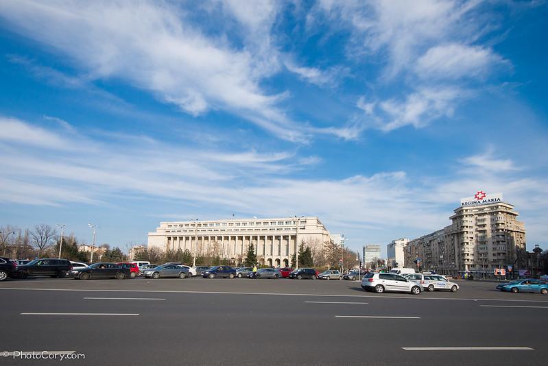 Piata Victoriei, Victory Square, Guvernul, The Government Building