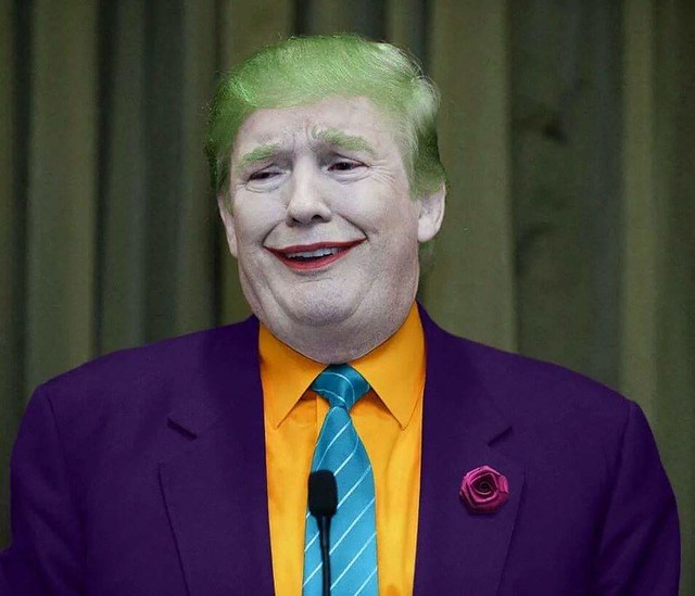 Trump As Joker
