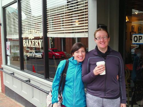 Katie and Hannah in Lexington VA