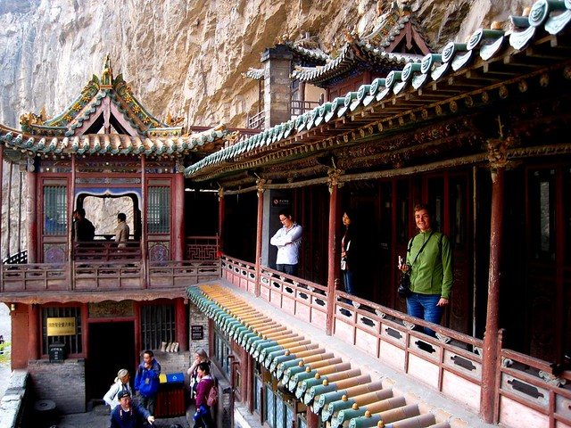 Monasterio colgante Datong