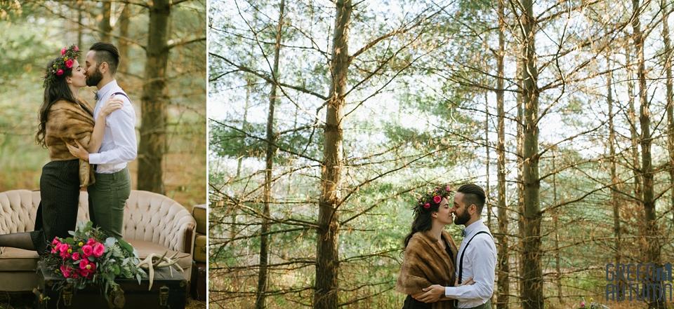 Wedding Creative Inspiration Hamilton Woodland engagement Photography 0020