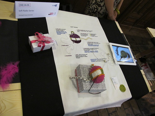 Smart Textiles Salon - Soft Radio Series by Ramyah Gowrishankar of Aalto University