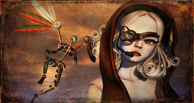 Steampunk Fairy raw
