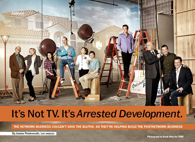 Arrested Development from Time