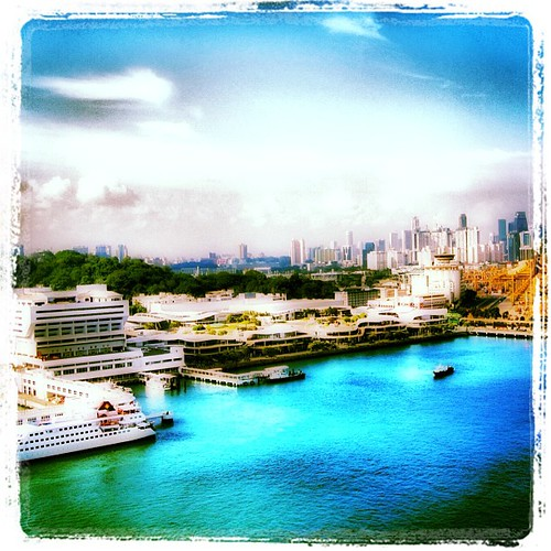 #singapore #harbour by @MySoDotCom