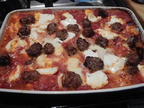 meatball lasagne