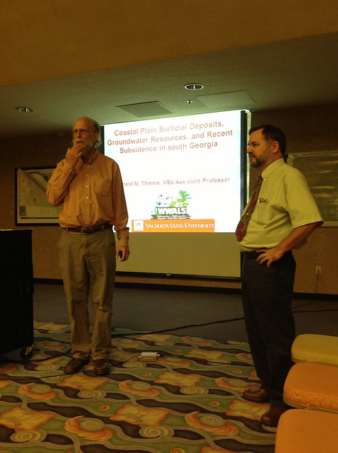 John S. Quarterman (WWALS VP) introducing Prof. Don Thieme (the speaker)