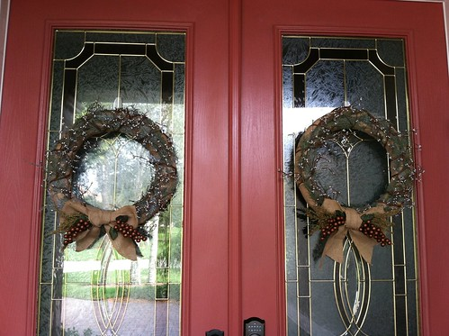 Holiday front doors
