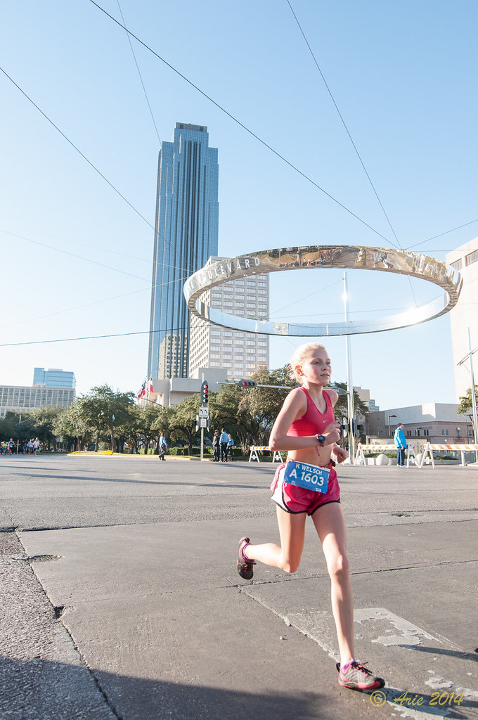 Kaytlynn Welsch @ Chevron Houston Marathon 2014