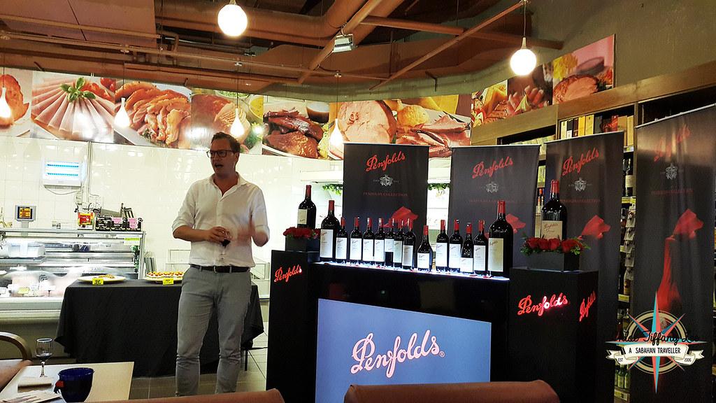 Penfolds, Food and Wine Tasting, Australia Ambassador, Patrick Dowling, Giant City Mall, Winecellars, Kota Kinabalu, Sabah, Chloe Tiffany Lee (6)