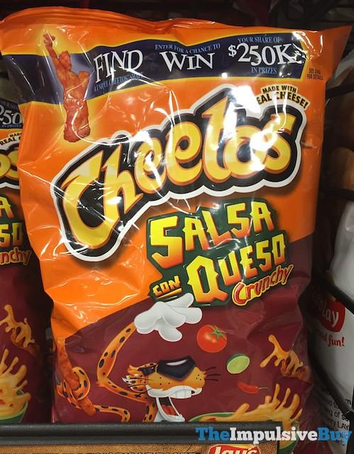 Cheetos Crunchy Salsa con Queso