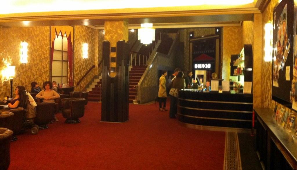 Kino Passage Hamburg Foyer
