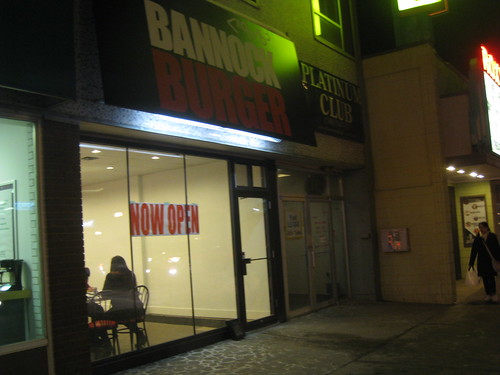 Bannock Burger