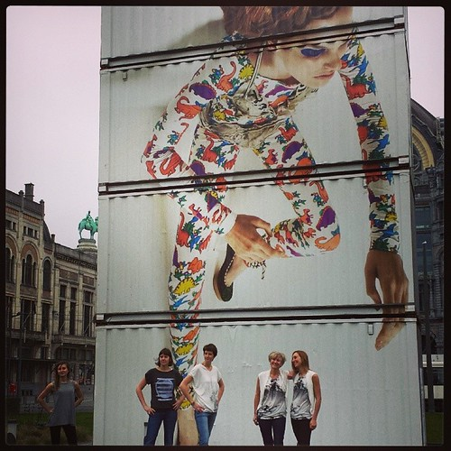 It's all about the T-shirts #hanhny.com #modeling #cold #fashion #antwerp