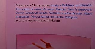 Margaret Mazzantini, Splendore. Mondadori 2013. Art Director: Giacomo Callo; Progetto Grafico: Marcello Dolcini; Graphic Designer: Susanna Tosatti; alla sovracop: ©R. McGinley. Risvolto della q. di sovracop. (part.), 4