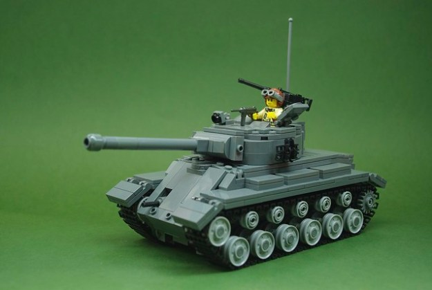 M26 Pershing heavy tank (1)