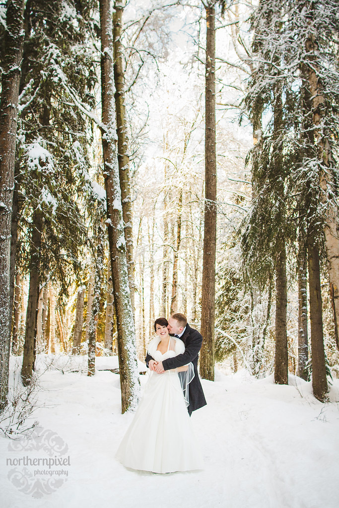 Winter Wedding - British Columbia Wedding Photographer