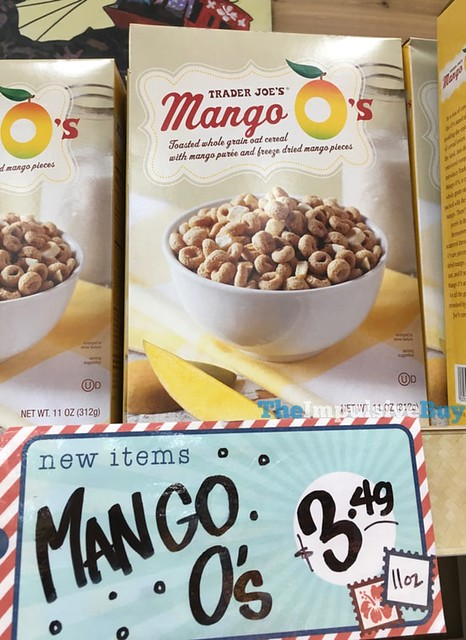 Trader Joe's Mango O's Cereal