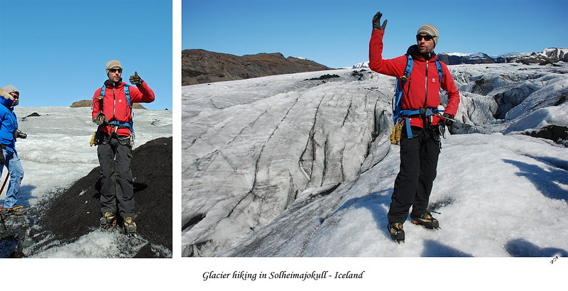 Glacier hiking in Solheimajokull - Iceland3