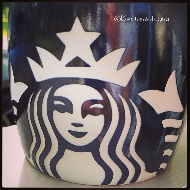 July 13 - logo {are you surprised?!} #photoaday #logo #starbucks #coffee #mug