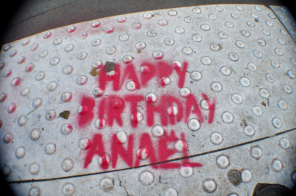 HAPPY BIRTHDAY ANAËL