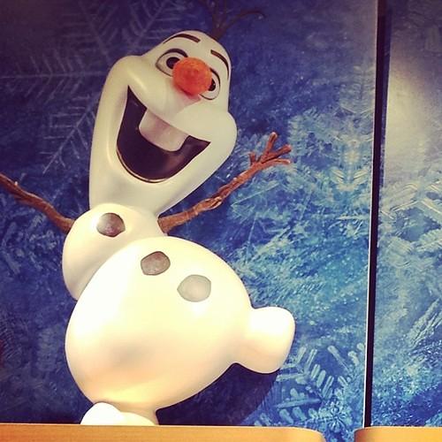 Olaf!! #Frozen #DisneyStore