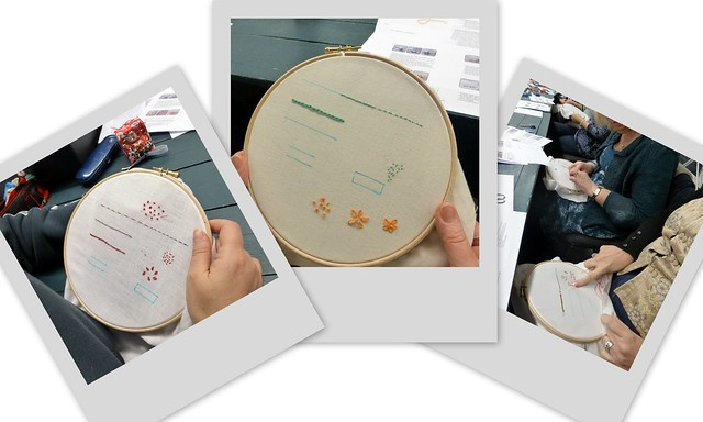 Embroidery Workshop Feb14