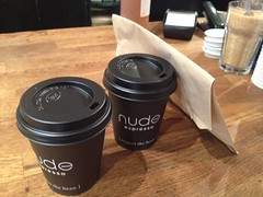 Nude Espresso, near Brick Lane