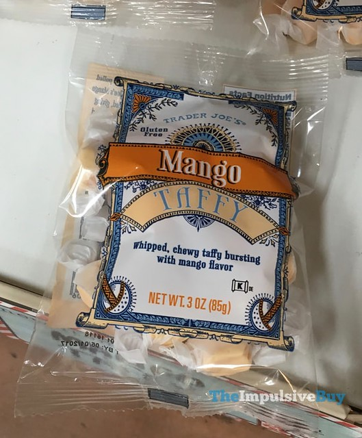 Trader Joe's Mango Taffy