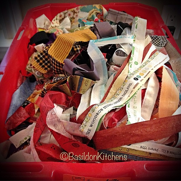 May 10 - stripper {my bin if strips from all of the quilts I've ever made} #photoaday #quilt