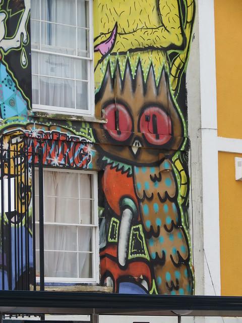 Stokes Croft street art - Discreet