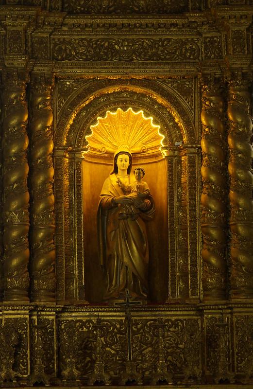 Inside the Basilica de Bom Jesus