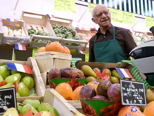 Vegetable Merchant - Marché des Batignolles