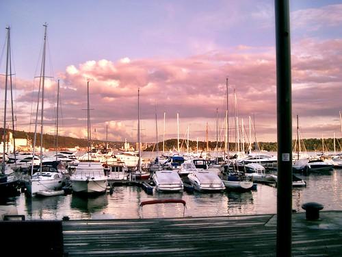 Oslo harbor by SpatzMe