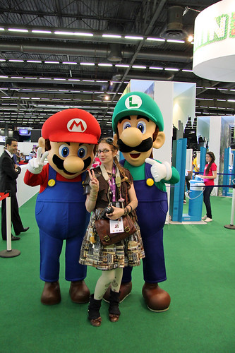 With Mario and Luigi
